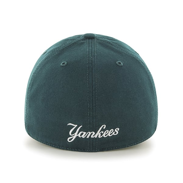 00090909c1df3 New York Yankees Franchise Pacific Green 47 Brand Fitted Hat. New ...