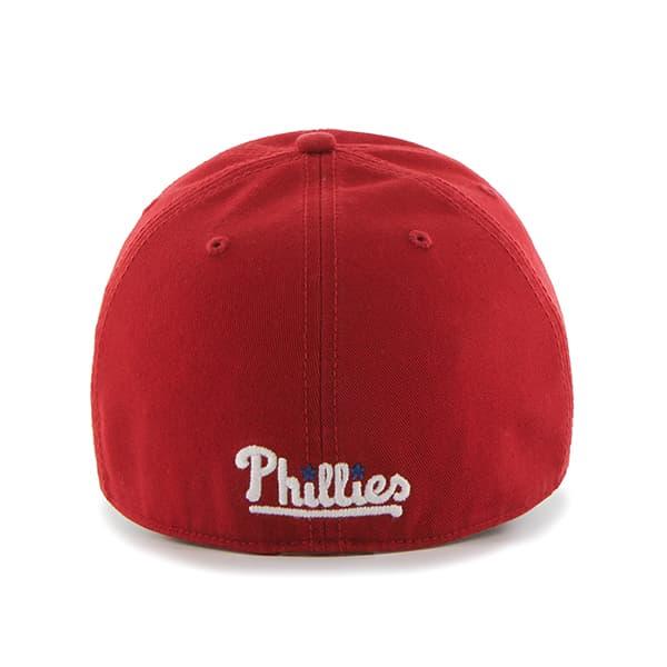 info for eb645 56bde Philadelphia Phillies 47 Brand Red Franchise Fitted Hat. Philadelphia ...