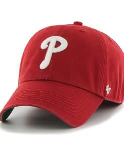 Philadelphia Phillies 47 Brand Red Franchise Fitted Hat