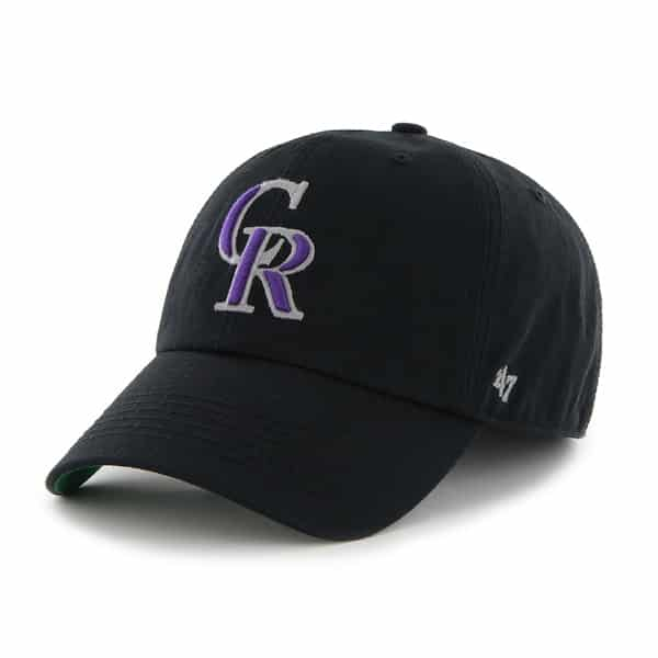 Colorado Rockies Franchise Black 47 Brand Hat