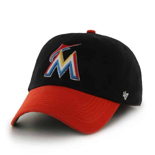 Miami Marlins Franchise Black 47 Brand Hat