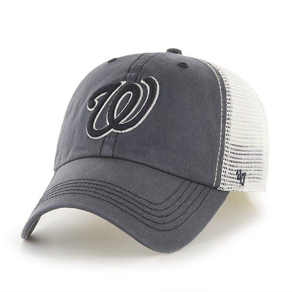 Washington Nationals Goosage Closer Charcoal 47 Brand Hat