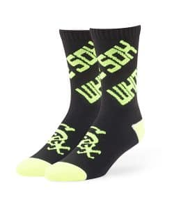 Chicago White Sox Helicoil Sport Socks Black 47 Brand