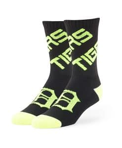 Detroit Tigers Helicoil Sport Socks Black 47 Brand