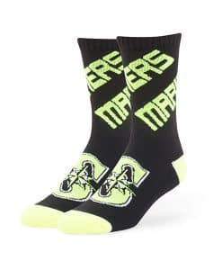 Seattle Mariners Helicoil Sport Socks Black 47 Brand