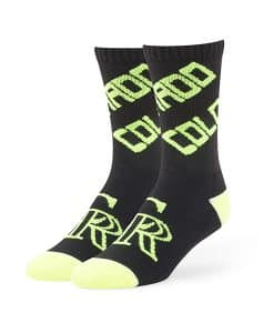 Colorado Rockies Helicoil Sport Socks Black 47 Brand