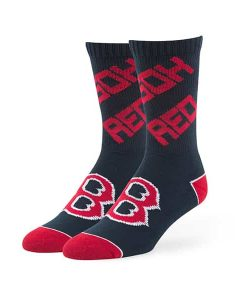 Boston Red Sox Helix Sport Socks Navy 47 Brand