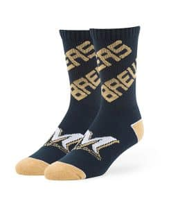 Milwaukee Brewers Helix Sport Socks Navy 47 Brand