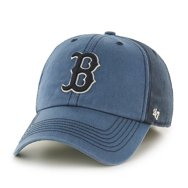 Boston Red Sox 47 Brand Navy Humboldt Franchise Fitted Hat