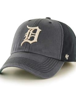 Detroit Tigers LARGE Humboldt Franchise Black 47 Brand Fitted Hat