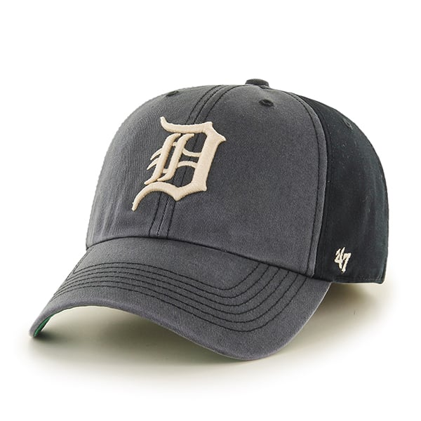 Detroit Tigers Humboldt Franchise Black 47 Brand Fitted Hat
