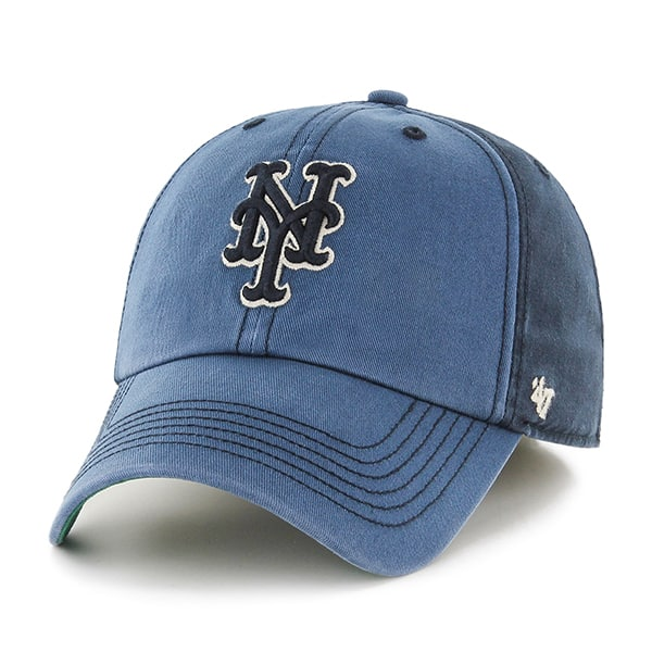 New York Mets Humboldt Franchise Navy 47 Brand Fitted Hat