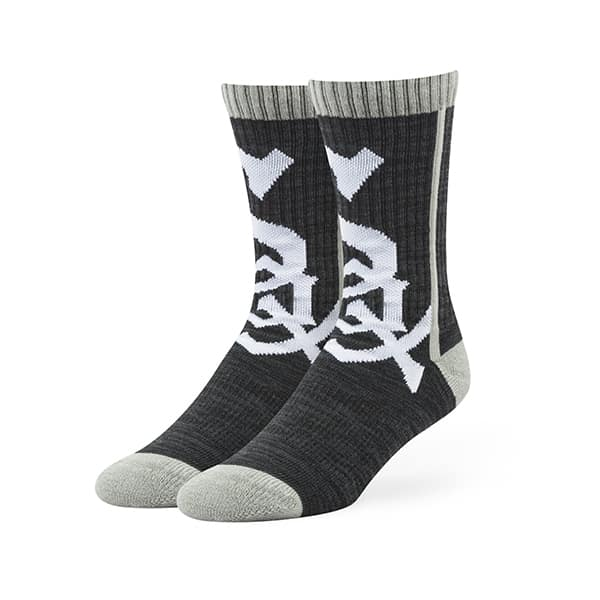 Chicago White Sox Hot Box Sport Socks Black 47 Brand