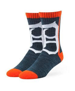Detroit Tigers Hot Box Sport Socks Navy 47 Brand