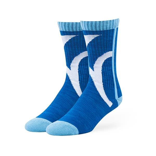 Kansas City Royals Hot Box Sport Socks Royal 47 Brand