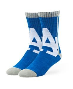 Los Angeles Dodgers Hot Box Sport Socks Royal 47 Brand