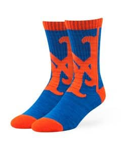 New York Mets Hot Box Sport Socks Royal 47 Brand