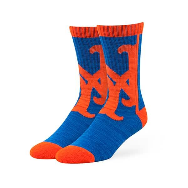 New York Mets Hot Box Sport Socks Royal 47 Brand