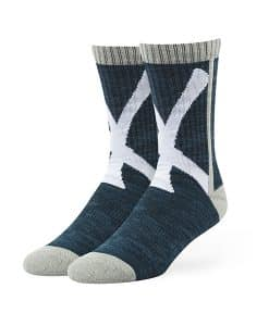 New York Yankees Hot Box Sport Socks Navy 47 Brand