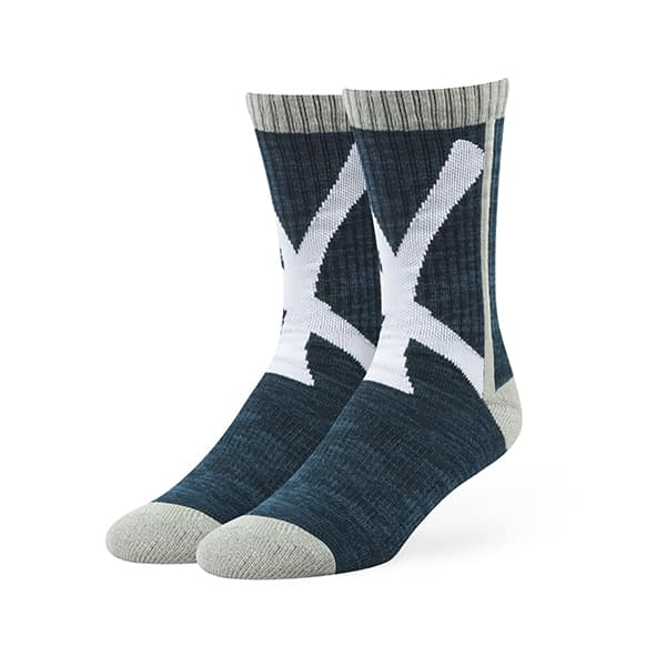 New York Yankees Hot Box Sport Socks Navy 47 Brand
