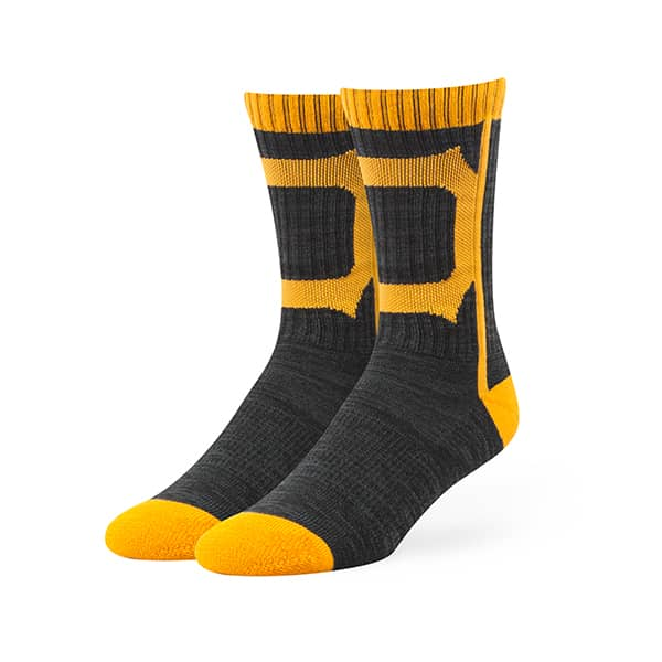 Pittsburgh Pirates Hot Box Sport Socks Black 47 Brand