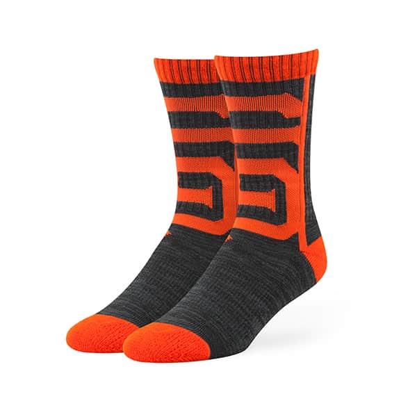 San Francisco Giants Hot Box Sport Socks Black 47 Brand