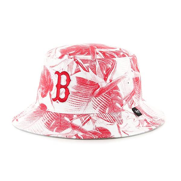 6fca947b Boston Red Sox Ohana Bucket Hat White 47 Brand - Detroit Game Gear