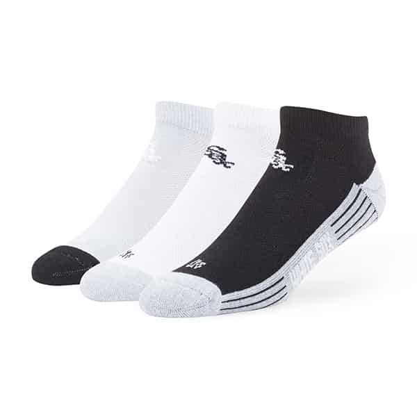 Chicago White Sox Skylite Motion Low Cut Socks 3 Pack Tonal 47 Brand