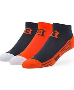 Detroit Tigers Skylite Motion Low Cut Socks 3 Pack Team Color 47 Brand