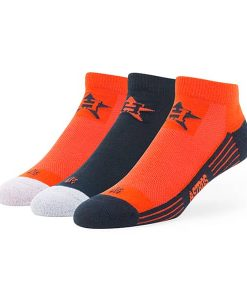 Houston Astros Skylite Motion Low Cut Socks 3 Pack Team Color 47 Brand