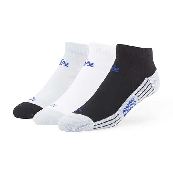 Los Angeles Dodgers Skylite Motion Low Cut Socks 3 Pack Tonal 47 Brand