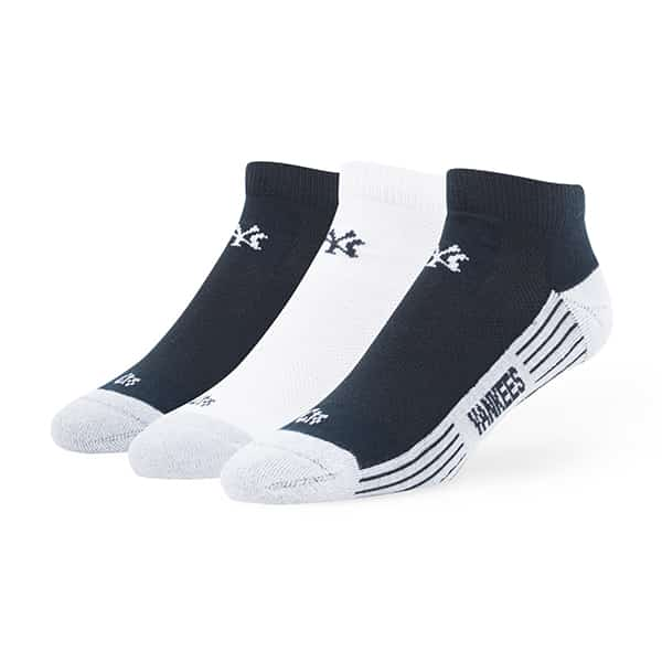 New York Yankees Skylite Motion Low Cut Socks 3 Pack Team Color 47 Brand