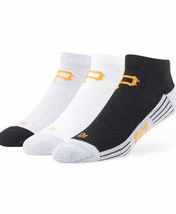 Pittsburgh Pirates Skylite Motion Low Cut Socks 3 Pack Tonal 47 Brand
