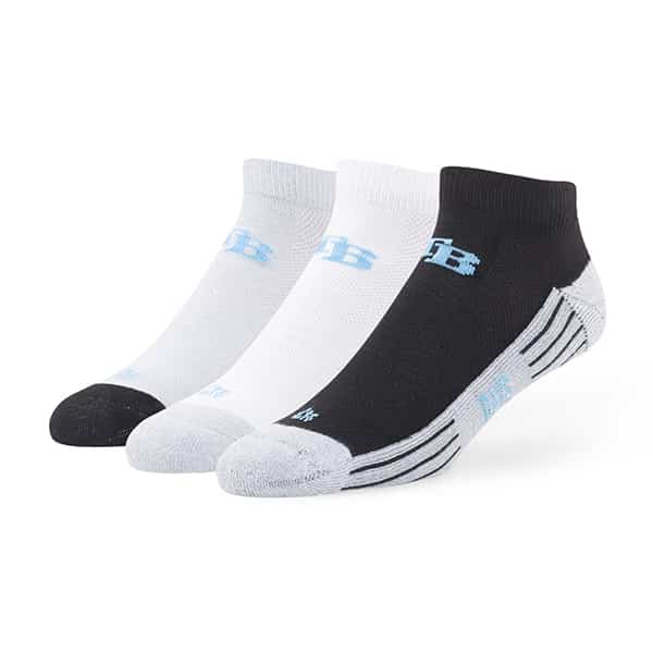 Tampa Bay Rays Skylite Motion Low Cut Socks 3 Pack Tonal 47 Brand
