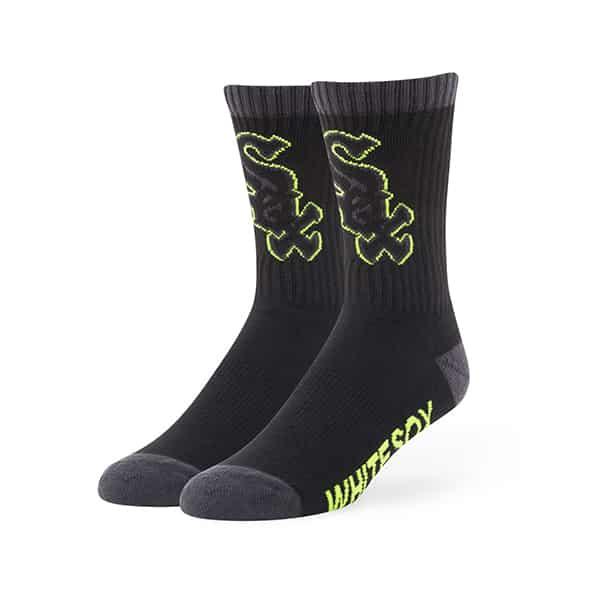 Chicago White Sox Warrant Sport Socks Black 47 Brand