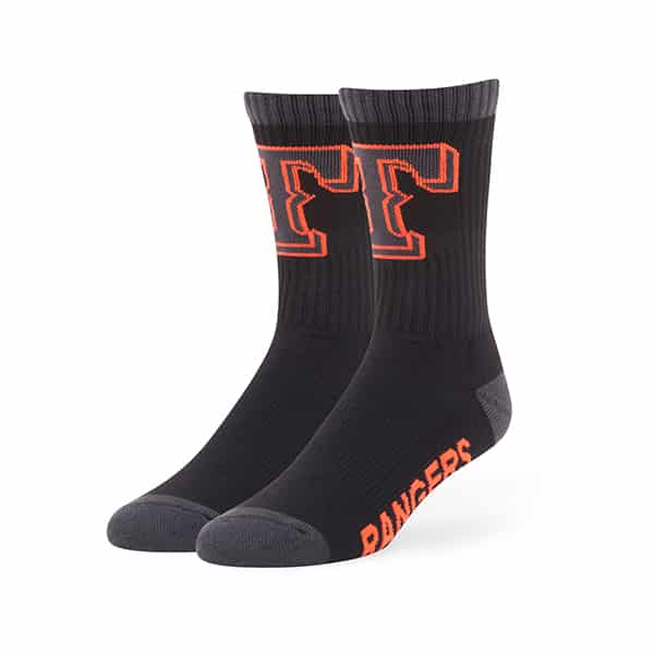 Texas Rangers Warrant Sport Socks Black 47 Brand