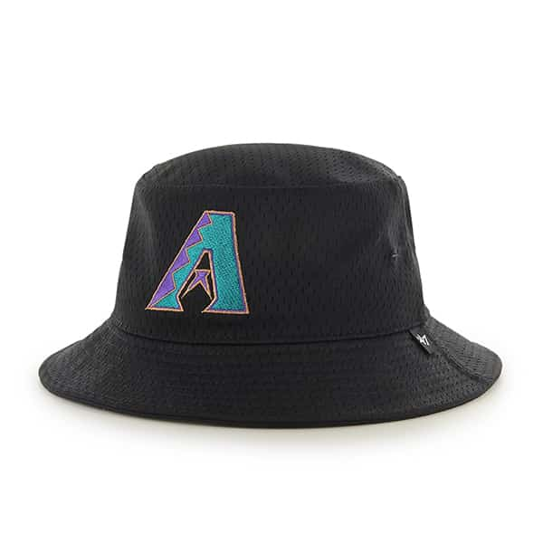 Arizona Diamondbacks Backboard Bucket Hat Black 47 Brand