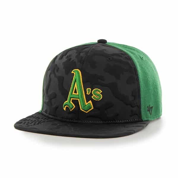 Oakland Athletics Bolton Pro Kelly 47 Brand Hat