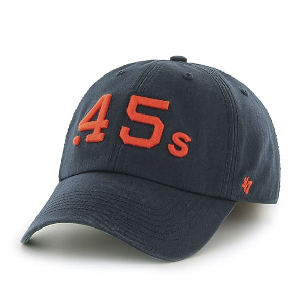 Houston Astros 47 Brand Clean Up Navy Adjustable Hat