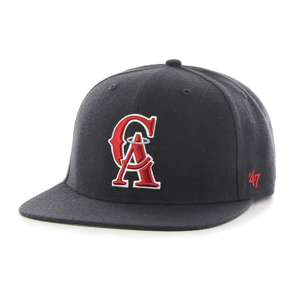 Los Angeles Angels Hole Shot Navy 47 Brand Hat