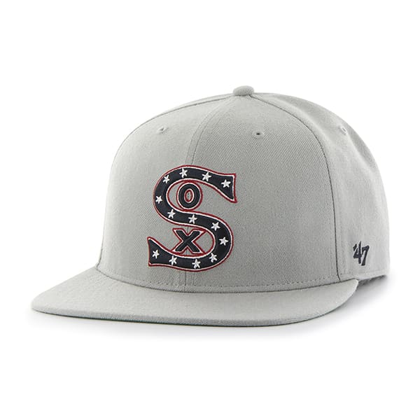 Chicago White Sox Hole Shot Gray 47 Brand Hat