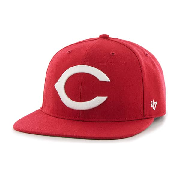 Cincinnati Reds Hole Shot Red 47 Brand Hat
