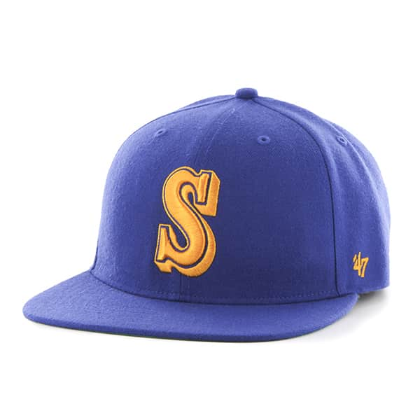 Seattle Mariners Hole Shot Royal 47 Brand Hat
