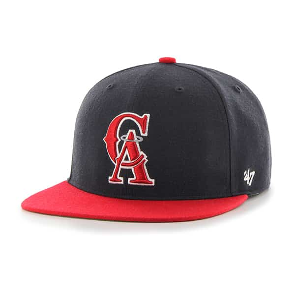 Los Angeles Angels Hole Shot Two Tone Navy 47 Brand Hat