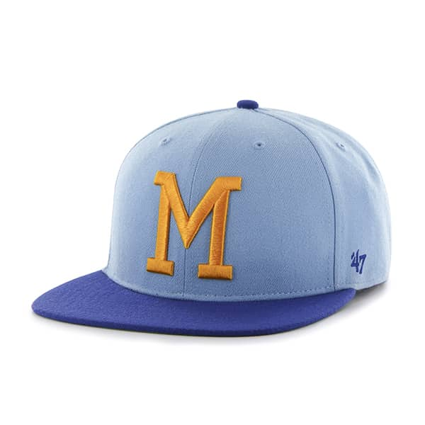 Milwaukee Brewers Hole Shot Two Tone Columbia 47 Brand Hat