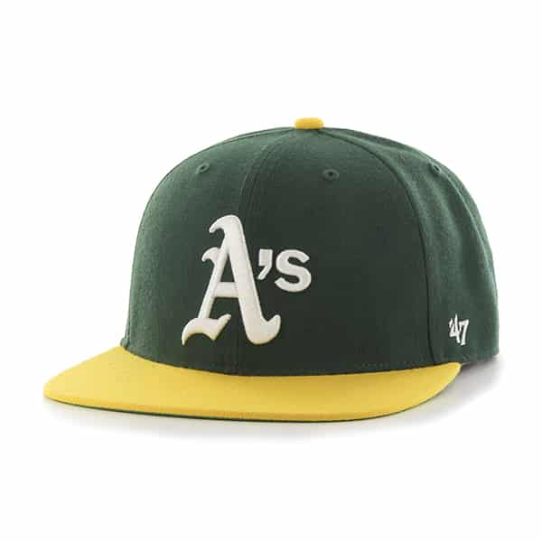 Oakland Athletics Hole Shot Two Tone Dark Green 47 Brand Hat