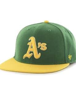 Oakland Athletics Hole Shot Two Tone Kelly 47 Brand Hat