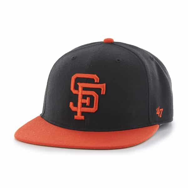 San Francisco Giants Hole Shot Two Tone Black 47 Brand Hat