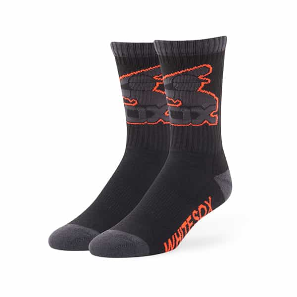 Chicago White Sox Warrant Sport Socks Black 47 Brand