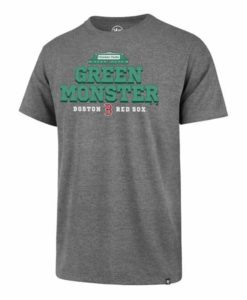 Boston Red Sox Men's 47 Brand Green Monster Gray T-Shirt Tee